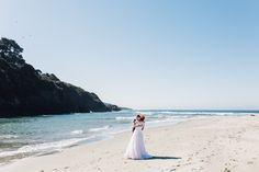 Beach wedding in California by Calgary photographers Diane + Mike.
