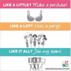 Visit www.EliseTheBraLady.com to shop or find out more about a business opportunity