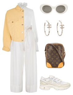 """""""Untitled #1162"""" by lucyshenton ❤ liked on Polyvore featuring Jonathan Simkhai, STELLA McCARTNEY, Topshop, Louis Vuitton, adidas and Acne Studios"""