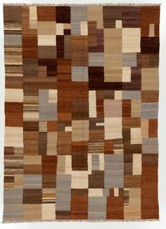 This rustic patchwork rug features a variety of patterns and colors, meaning it will blend in with any design scheme. Rustic reds, cool blues, and olive greens contrast beautifully with creamy beiges and deep purples. A medium-length fringe gives the work of art a homespun appearance, and pure wool fibers give it a plush yet light texture. This rug is completely designed and made by hand, meaning you can't find it anywhere else. 5.50x7.67' Multi Kilims Rug without Borders - Rugknots