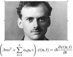 Spin in Quantum Mechanics, with Relativity, and the Dirac Equation Physics 101, Physics Formulas, Physics And Mathematics, Quantum Physics, Maths Algebra, Calculus, Dirac Equation, Emmy Noether, Paul Dirac