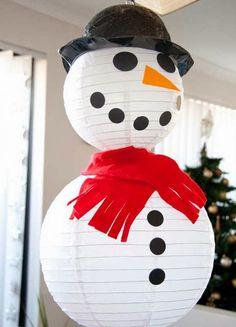 Χριστουγεννιάτικες Κατασκευές: ΧΙΟΝΑΝΘΡΩΠΟΙ   ΣΟΥΛΟΥΠΩΣΕ ΤΟ