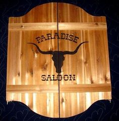 Wild-West-Ranch-Saloon-Cafe-Swinging-Doors-w-Your-Name-Western-Decor
