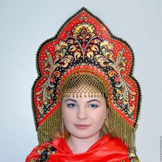Folk Costume, Costumes, Russian Party, Harlequin Costume, Russian Love, Russian Culture, Dress Hairstyles, Russian Fashion, Traditional Outfits