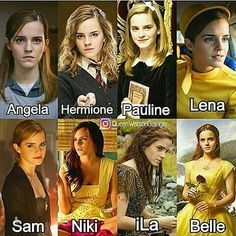 Which emma character you like the most😍😍😘😙 via ***Belle and Hermione for life Harry Potter Hermione, Mundo Harry Potter, Harry Potter Feels, Draco Harry Potter, Harry Potter Tumblr, Harry Potter Pictures, Harry Potter Universal, Harry Potter Characters, Harry Potter World
