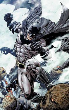 Batman vs Scarecrows