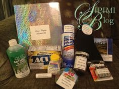 50th Birthday Gag Gift See More Saw It Pinned Made Senior Citizens Survival Kit Retirement