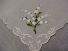 Lily of the Valley Handkerchief