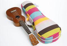 Ukulele Bag (Soprano Size) - Custom made. $34.00, via Etsy.