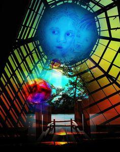 'Zeig mir die Welt 3' von Walter Zettl bei artflakes.com als Poster oder Kunstdruck $16.63