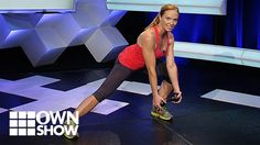 Blast your thighs, core, arms and your shoulders. Celebrity fitness trainer Amy Dixon grabs a dumbbell and shows you a simple but challenging routine that tones everything from the deltoids on down!Do 3 sets of 12 - 15 reps on each leg.