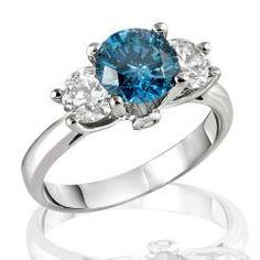 Yes, I love blue diamonds.