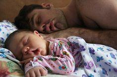 23 adorables fotos de padres junto a sus hijos