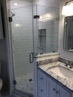 Home Renovation Basement Corner Shower Bathroom Renovation Future Home In 2019 Mold In Bathroom, Bathroom Renos, Bathroom Renovations, Home Renovation, Small Bathroom, Home Remodeling, Master Bathroom, Shower Bathroom, Corner Shower Small