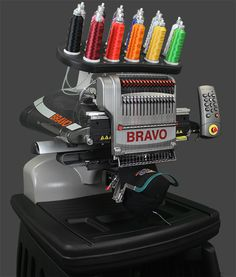 """The Absolute Best Value in a Commercial Embroidery Machine"" I so want this.  MELCO AMAYA BRAVO ""C"" PACKAGE A World Class 16-Needle Embroidery Machine  Comp..."