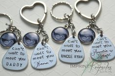 Pregnancy announcement idea Check out this item in my Etsy shop https://www.etsy.com/listing/229884857/pregnancy-announcement-hand-stamped