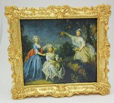 John Hodgson, iGMA fellow - Ornate Gilt Frame; print of The Ladies Noel by Bartholomew Dandridge