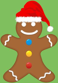 The Gingerbread Man Game - Counting, Matching and Ordering game Gingerbread Man Games, Christmas Maths, Speech Therapy Autism, Special Educational Needs, Learn To Count, Preschool Ideas, Math Activities, Kids Learning, Counting