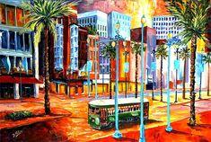 "Diane Millsap - ""New Orleans Canal Street"""