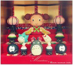 TOTORO { Japanese doll }   Flickr – Compartilhamento de fotos!