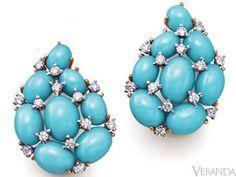 verdura jewelry earrings | Summer Jewelry - Jewelry From Day to Night - Veranda.com