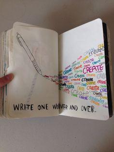 Wreck this journal ideas.... Create