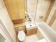 Современный дизайн маленькой ванной комнаты: лучшие фото и идеи-3