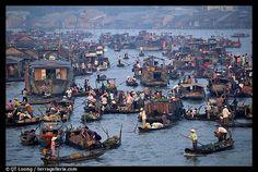 Noi market - South of Vietnam