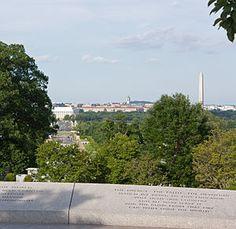 JFK's grave at Arlington National Cemetary