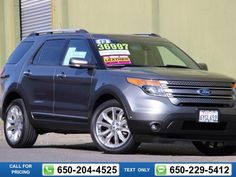 2013 Ford Explorer Limited 35k miles Call for Price 35450 miles 650-204-4525 Transmission: Automatic  #Ford #Explorer #used #cars #FrontierFord #SantaClara #CA #tapcars