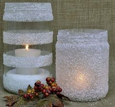 Holiday Collection 5 Categories of Ideas Using Household Items like Colanders, Epsom Salt, Cinnamon Sticks, Faux Snow & Wine Glasses! Halloween Decorations, Christmas Decorations, Holiday Decor, White Christmas, Christmas Diy, Wood Slat Ceiling, Home Crafts, Diy And Crafts, Holiday Candles
