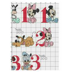 Valentine Gift Baskets, Valentine Gifts, Minnie, Mickey Mouse, Cross Stitch Baby, Modern Cross Stitch Patterns, Crochet Diagram, Mickey And Friends, Disney Cartoons