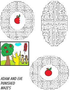 Adam and Eve - Mazes