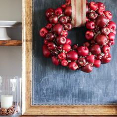 Apple Wreath by The Wood Grain Cottage
