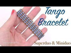Tango Bracelet with Superduo and Miniduo beads