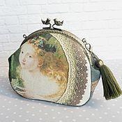 Фермуар, сумка с фермуаром, чехол, ручная работа, с фермуаром, сумка, сумочка, косметичка
