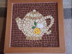 Caja para te Mosaic Art, Mosaic Glass, Collage Artists, Tea Pots, Mosaic Ideas, Zero Waste, Craft Projects, Gifts, Walmart
