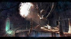 Image result for alien cave concept art