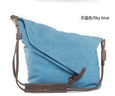 Sky Blue Bag Canvas Bag Art Restore Ancient Ways Bag Shoulder Bag Messenger Bag  13'' laptop IPAD Bag Men's and Women's Backpack on Etsy, $53.30