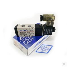 4V110-06  two five-way solenoid valve pneumatic control Voltage: 110V AC ,220V AC ,380V AC ,24V AC ,12V DC ,24V DC .