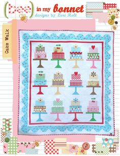 Cake Walk by LoriHolt on Etsy, $14.00