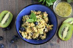 Blueberry Kiwi Mojito Quinoa
