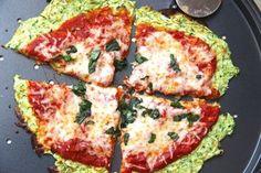 Skinny Zucchini Pizza Crust Tasty Kitchen: A Happy Recipe Community!, LowCarb Zucchini Crust Vegetarian Pizza Margherita On the Grill or I. Healthy Pizza, Healthy Cooking, Healthy Snacks, Healthy Eating, Paleo Pizza, Healthy Zucchini, Grilled Zucchini, Eat Pizza, Pizza Recipes