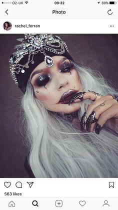 Halloween Music, Halloween Inspo, Halloween 2014, Halloween Festival, Halloween Makeup Looks, Halloween Cosplay, Halloween Make Up, Halloween Costumes, Costume Makeup