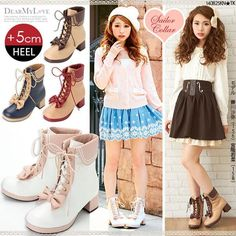 Sweet bow princess zippers Martin boots YV17055