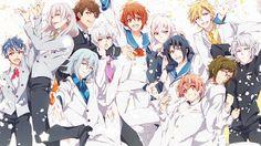 Idolish 7, il gruppo idol 2D diventa anime, col chara di Arina Tanemura