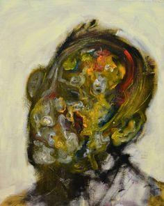 "Saatchi Art Artist michele petrelli; Painting, ""Erwin Schrodinger"" #art"
