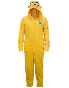 Shop for the Adventure Time Jake Union Suit today. This is an officially licensed Adventure Time Union Suit available at Stylin Online now. Jake Adventure Time, Halloween Adventure, Lounge Outfit, Lounge Clothes, Union Suit, Jake The Dogs, One Piece Pajamas, Halloween Outfits, Halloween Clothes