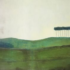 Scots pines on green hill Painting Irish Landscape, Contemporary Landscape, Oil On Canvas, Canvas Art, Original Paintings, Original Art, Landscape Paintings, Landscapes, Buy Art