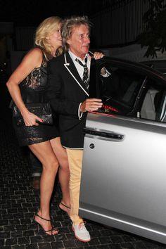 Rod Stewart Rolls Royce Phantom